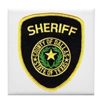 Dallas County Sheriff Tile Coaster