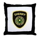 Dallas County Sheriff Throw Pillow