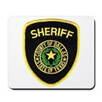 Dallas County Sheriff Mousepad