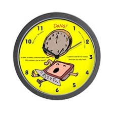 eNursery Rhymes Wall Clock