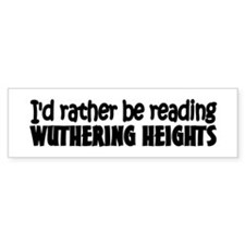 Wuthering Heights Bumper Bumper Sticker