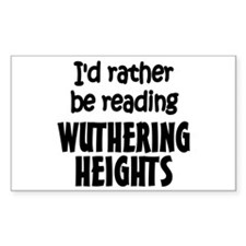 Wuthering Heights Rectangle Decal