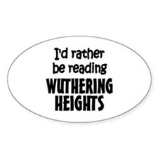 Wuthering Heights Oval Decal