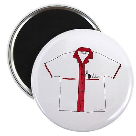 "Bowling Shirt 2.25"" Magnet (10 pack)"