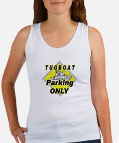 Tug Boat Parking Only Women's Tank Top