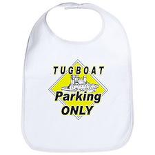 Tug Boat Parking Only Bib