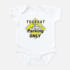 Tug Boat Parking Only Infant Bodysuit