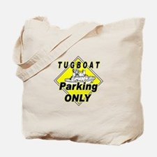 Tug Boat Parking Only / Xing Tote Bag
