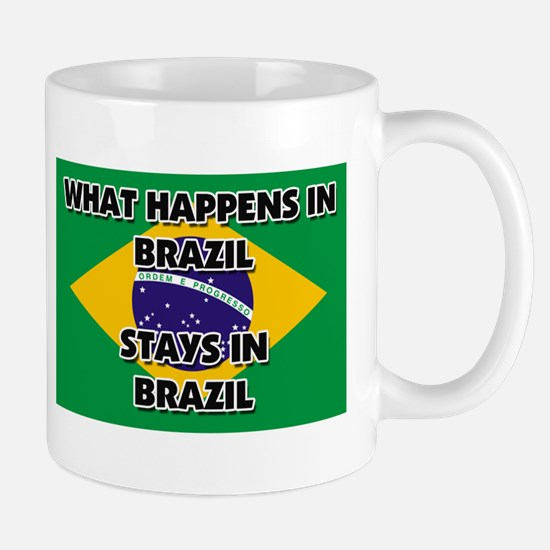 What Happens In BRAZIL Stays There Mug