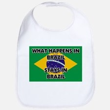 What Happens In BRAZIL Stays There Bib