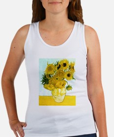 Van Gogh Sunflowers Women's Tank Top