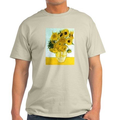 Van Gogh Sunflowers Light T-Shirt
