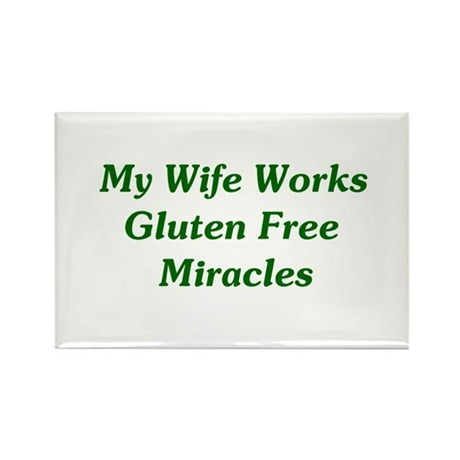 Gluten Free Miracles Rectangle Magnet (10 pack)