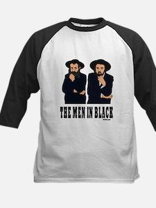 The Men In Black Funny Jewish Kids Baseball Jersey