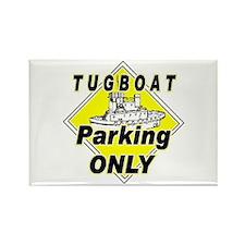 Tug Boat Parking Only Rectangle Magnet (10 pack)