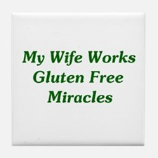 Gluten Free Miracles Tile Coaster