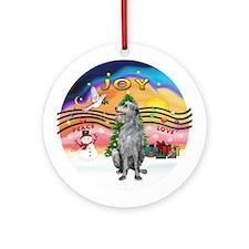 XMusic2 - Scottish Deerhound Ornament (Round)