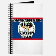 What Happens In BELIZE Stays There Journal
