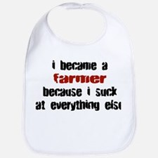 Farmer Suck at Everything Bib