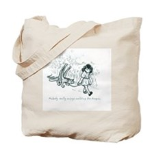 Dragon-Walking Tote Bag