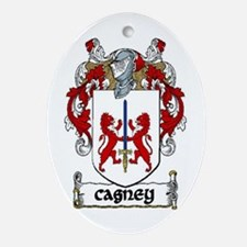 Cagney Coat of Arms Ornament (Oval)