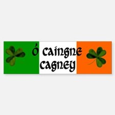 Cagney Coat of Arms Bumper Bumper Sticker