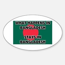 What Happens In BANGLADESH Stays There Decal