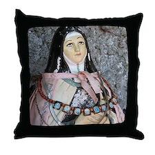 """""""Roadside Religion"""" Throw Pillow"""