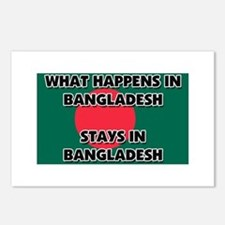 What Happens In BANGLADESH Stays There Postcards (