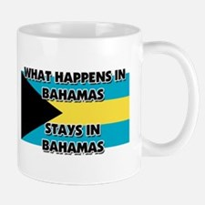 What Happens In BAHAMAS Stays There Small Small Mug