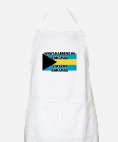 What Happens In BAHAMAS Stays There BBQ Apron