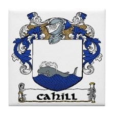 Cahill Coat of Arms Tile Coaster