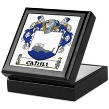Cahill Coat of Arms Keepsake Box