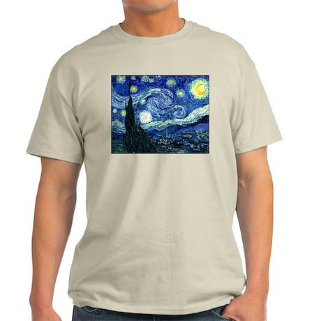 Starry Night Light T-Shirt