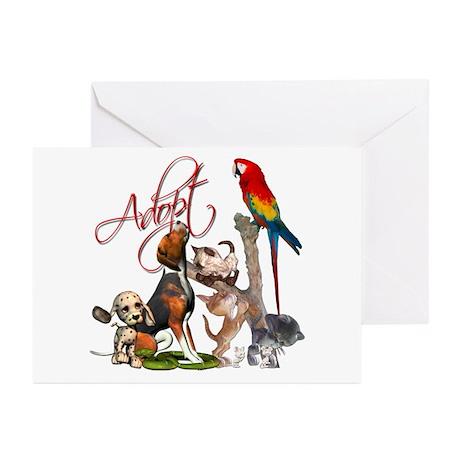 Adopt a Pet Greeting Cards (Pk of 10)