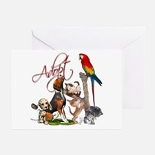 Adopt a Pet Greeting Card