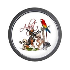 Adopt a Pet Wall Clock