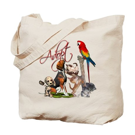 Adopt a Pet Tote Bag