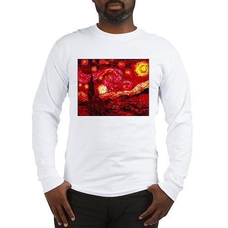 Fiery Night Long Sleeve T-Shirt