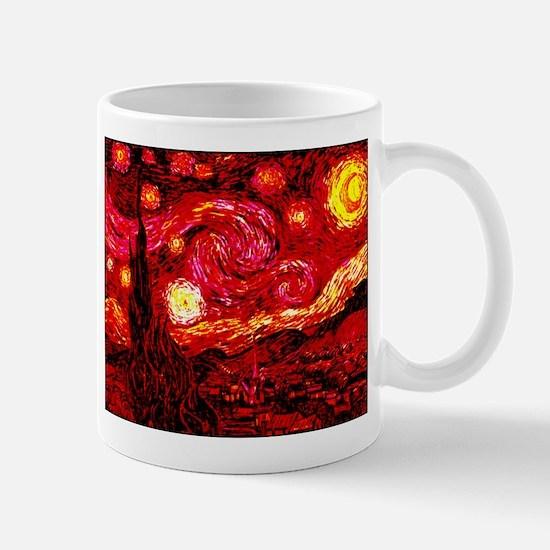 Fiery Night Mug