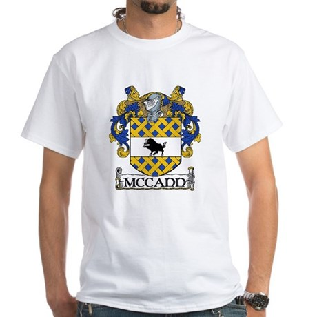 McCann Coat of Arms White T-Shirt