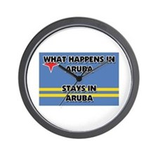 What Happens In ARUBA Stays There Wall Clock