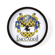McCann Coat of Arms Wall Clock