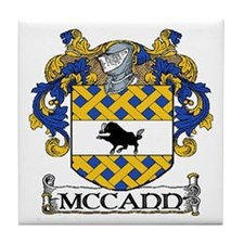 McCann Coat of Arms Tile Coaster