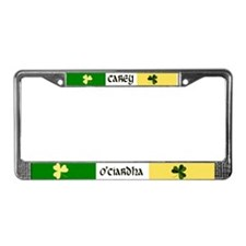 Carey Coat of Arms License Plate Frame