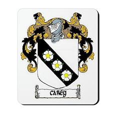 Carey Coat of Arms Mousepad