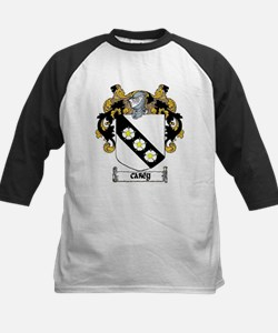 Carey Coat of Arms Kids Baseball Jersey