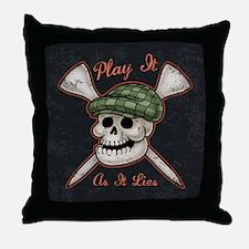Play It As It Lies Throw Pillow
