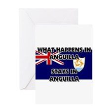 What Happens In ANGUILLA Stays There Greeting Card
