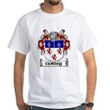 Carney coat of arms Mens Classic White T-Shirts